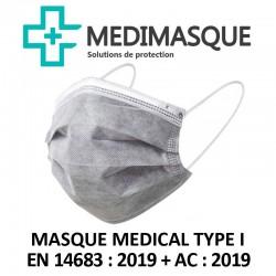 Masques Chirurgicaux Gris...