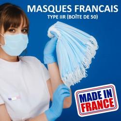 Masques Français Type IIR...