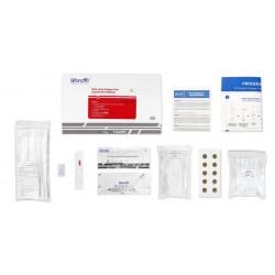 emballage de Test antigenique wondfo covid19
